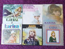 """Karina 6 x Vinyl, 7"""" Single Spain"""