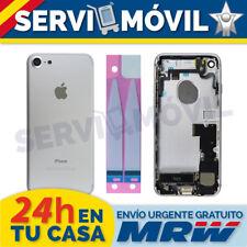 Chasis Trasero + Flex Botones para Iphone 7 Plata Gris Carcasa Piezas Cable Tapa
