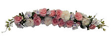 "LARGE 50"" SWAG ~ PINK ~ Centerpiece Silk Wedding Flowers Arch Decoration Chuppah"