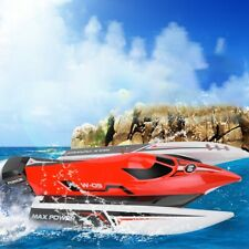 Wl915 2.4G 45Km/H Brushless Remote Control Speedboat Racing Rc Speed Boat Model