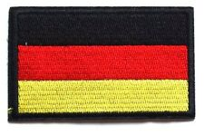 Germany Deutschland Flag Patch Black Yellow Gold Red Embroidered Iron Sew On
