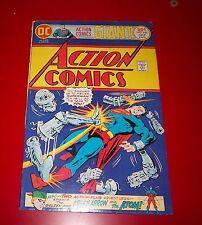 Action Comics #449 My Best Friend - The Super Spy! w/ Green Arrow The Atom 1975