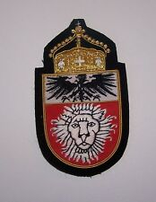 German Prussian Royal Kaiser East Africa Crown Colony Empire HRE Lion War Patch