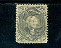 USAstamps Used VF-XF US Series of 1861 Washington Scott 78