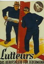 Original Plakat - Lutteurs - Das Berufskleid für Jedermann