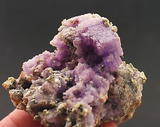 5051 Coquimbit coquimbite Copiapit Javier Mine Peru 2009 minerals specimen Stufe