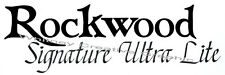"""Rockwood Signature ultra lite"" rv decal camper graphic sticker Made Fresh!"