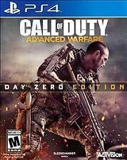 Call of Duty: Advanced Warfare -- Day Zero Edition (Sony PlayStation 4, 2014)