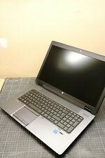 HP ZBook 17 g2 i7-4710mq/24gb ram/512 ssd/500gb hdd/k3100m/win10pro
