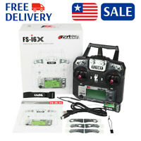 Flysky FS-i6X 2.4GHz 10CH AFHDS 2A RC Transmitter TX For RC Helicopter US STOCK