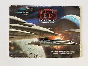 Star Wars Return Of The Jedi Portfolio. Ralph McQuarrie
