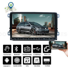 """2 DIN 9"""" Car Android 9.1 Stereo RDS Bluetooth GPS Navi For VW GOLF 5 6 PASSAT"""