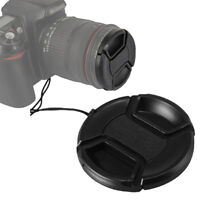 10pcs 39mm Front Center Snap-on Lens Caps Cover with Cord for All DSLR Filter