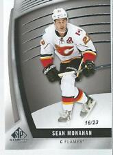 2017-18 Upper Deck UD Sp Game Used SEAN MONAHAN #14 16/23 Calgary Flames