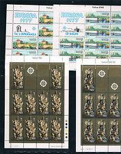 Malta. Conjunto de 10 minipliegos del Tema Europa. Valor 117.50