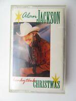 Alan Jackson Honky Tonk Christmas (Cassette)