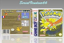 """Boitier du jeu """"POKEMON VERSION OR"""", Game Boy Color. FR. HD. SANS LE JEU."""