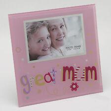 """Gran Mamá Hermoso de 6 """"x 4 Fotos Vidrio Portaretrato idea del regalo para las madres"""