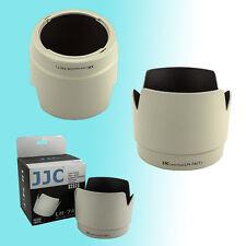 ET-74 White Tulip Flower Lens Hood Shade for Canon 70-200mm f/4L USM IS USM JJC