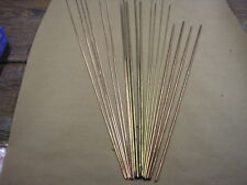 WELDING BRAZING + STAINLESS RODS steel INC SILVER SOLDER - BUNDLE of 15 MIXED