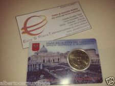 coin card N 6 50 centesimi euro Vaticano 2015 Vatican Vatikan Ватикан バチカン 教廷