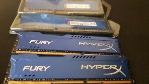 Kingston HyperX DDR3 Ram 8gb - 1866MHz 1.5v - Blue -HX318C10FK2/16