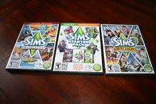 Lot of Sims 3 Windows / Macintosh 2009 WinMac Computer Games & Expansions