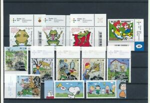 D192019 Germany 2017-2018 Nice selection of MNH stamps Facevalue in €