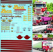 MAN SCANIA sveboiie 2 GENERIC Sheet 1:50 Camion decalcomania AUTOCARRO