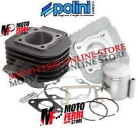 KIT GRUPPO TERMICO CILINDRO POLINI 70 CC GHISA DM 47 MBK BOOSTER 50 2T SPIRIT
