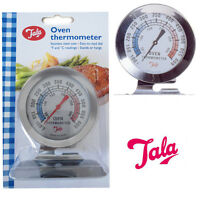 Oven Thermometer Stainless Baking Cooking Temperature F&C Reading Meat Food BBQ