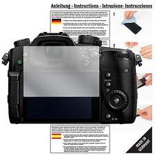 6x Pellicola protettiva per Panasonic Lumix dmc-gh5 Pellicola Proteggi Schermo Chiaro