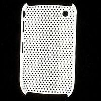 HQRP Mesh White Skin / Cover Case for Blackberry Curve 8520 8530 3G 9300 9330