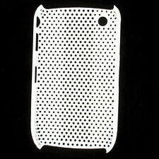 HQRP Mesh White Skin / Cover Case for Blackberry Curve 8520 8530 3G 9300 9330