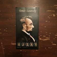 Tomas Lasansky Art Gallery Abraham Lincoln 1861-1865 Advertising Card