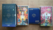 Doctor Who The Five Doctors &The Kings Demons Box Set Includes Album & Postcards