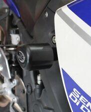 Yamaha YZF R25 2016 R&G Racing No-Mod Aero Crash Protectors CP0379BL Black