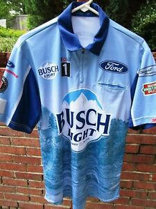 Kevin Harvick #4 BUSCH LIGHT/Stewart Haas Racing race day pit crew shirt - Small