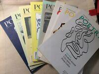 Poetry Foundation Lot of 8 2002 2003 2008 Magazines Books Poems Anthology