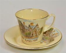 Vntg JONROTH England HOUSE of SEVEN GABLES SALEM MASS Set Demitasse Cup & Saucer