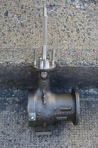 "Masoneilan 36000-043 3"" ball valve body with shaft, stainless, 3-month warranty"