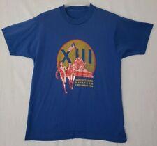 Vtg 1988 Marine Corps Marathon Shirt M/L Usmc Iwo Jima Monument Single Stitch D1