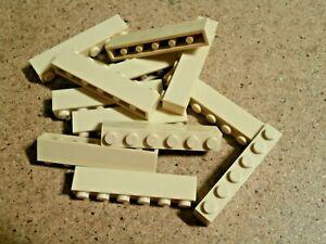 LEGO Harry Potter 12 x brique 1 x 6  beige tan brick Neuf