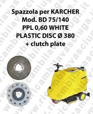 CEPILLO DE LAVADO PPL 0.6 WHITE para fregadora KARCHER modelo BD 75/140