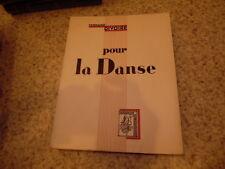 1935.Pour la danse.Fernand Divoire.TBE