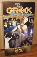 Greek VHS Videos The Greek Americans II WLIW21 Public TV Passing The Torch