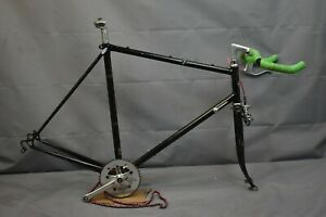 1986 Schwinn Super Sport Fixie Road Bike Frame Set 58cm Large SS Steel Charity!