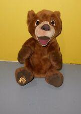 Hasbro 2003 Disney Brother Bear Tumble n' Laugh Koda Talking Plush Stuffed