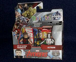 Marvel MiniMates Series 61 Avengers: Age of Ultron HAWKEYE & ULTRON Figure 2 PK