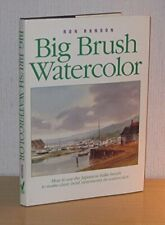 Big Brush Watercolor by Ranson Ron Book The Fast Free Shipping